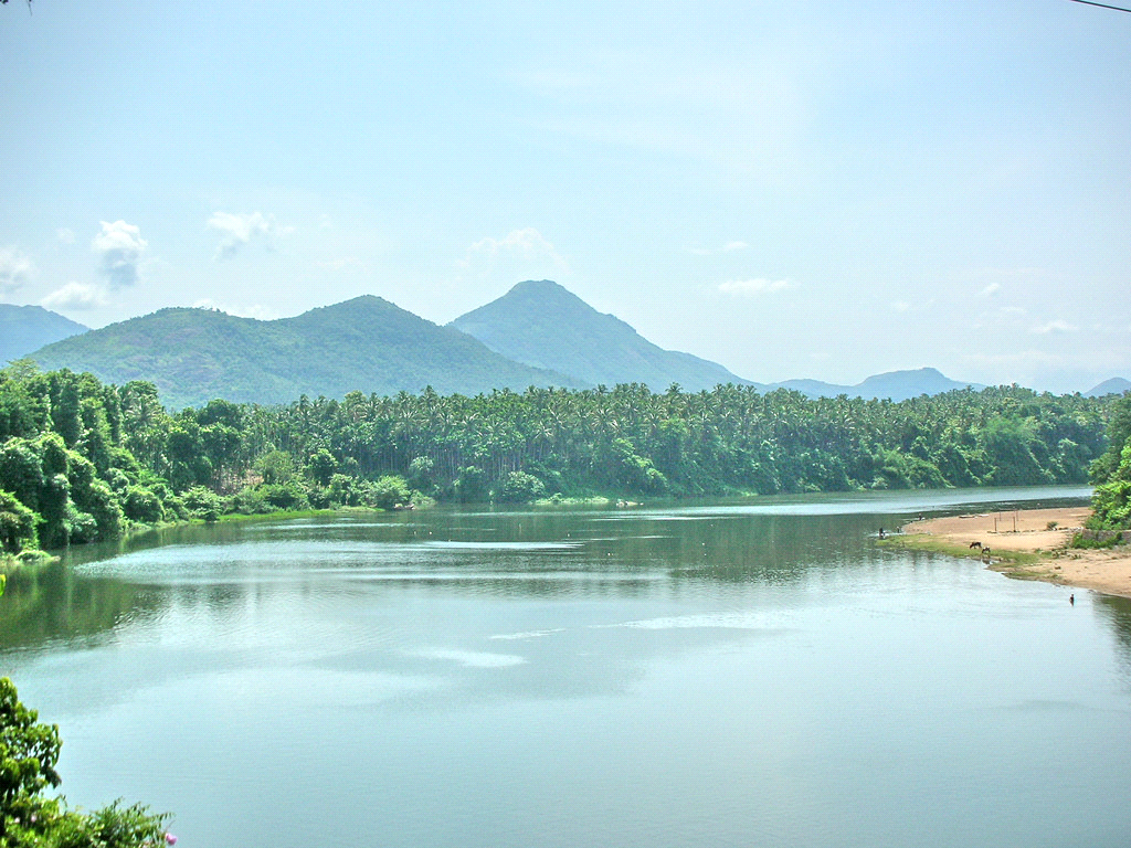 River Chaliyar in Kerala