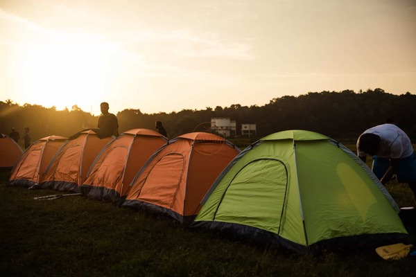 Campsite Chaliyar river challenge 2017 kerala kayaking festival @ jellyfish watersports