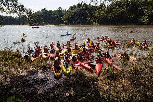 Participants of Chaliyar river challenge 2017
