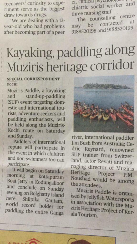 kayaking Event by jellyfish watersports Kayaking In Kerala